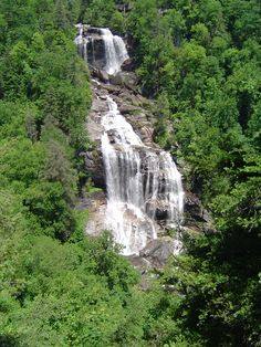 Whitewater Falls near Highlands NC.