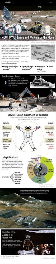 ¿Cómo sería la vida en la Luna?