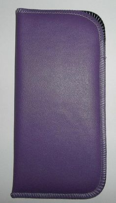 Womens Soft Eyeglass Eyewear Case Lilac