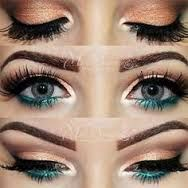 christmas eye makeup ideas - Google Search