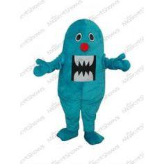 Requin Bleu Mascotte Adulte Costumes mascotte dégu...