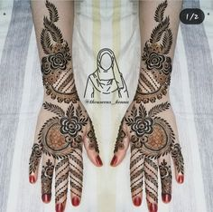 Latest Bridal Mehndi Designs, Full Hand Mehndi Designs, Stylish Mehndi Designs, Henna Mehndi, Mehendi, Hand Henna, Mhndi Design, Arabian Art, Mehndi Images