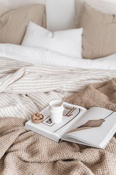 Home Wallpapers ⌂ Aesthetic Room Decor, Beige Aesthetic, Aesthetic Coffee, Aesthetic Style, Aesthetic Outfit, Aesthetic Photo, Eclectic Bedding, Neutral Bedding, Interior Photography