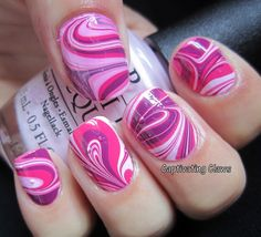 Captivating Claws- Weekly Water Marble 10/4/12