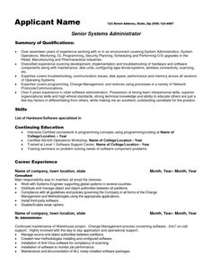 Administrator Resume Sample Cool Awesome High Impact Database Administrator Resume To Get Noticed .