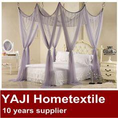 2014 Purple Romantic Loft Bed Curtains $15~$20