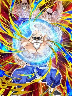 Resultado de imagen para dokkan battle roshi