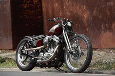 Harley-Davidson XL883 Sportster bobber by 2LOUD Custom
