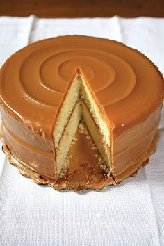 Rose Deshazer-White, of Chicago's South Side, earned local fame for this buttery cake slathered with rich caramel icing....