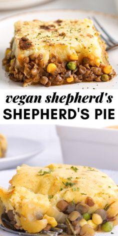 Lentil Recipes, Veg Recipes, Vegan Recipes Easy, Vegetarian Recipes, Cooking Recipes, Veggie Main Dishes, Vegetarian Main Dishes, Vegan Dishes, Healthy Vegan Breakfast