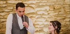 What to mention in your groom's speech