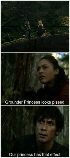 Grounder princess vs. Our princess #The 100 CW