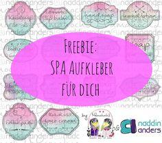 Hier erhälst du unser Freebie Spa Etiketten auf englisch und deutsch. Enthalten sind dabei viele gängige Spabezeichnungen und Zubehör, dass im Badezimmer häufig zum Einsatz kommt. Zusätzlich gibt es ein Blanko-Set zum selbst beschriften...    Ideal zum Verschenken und fürs eigene Badezimmer!