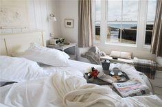 Luxury self-catering in Mousehole, luxury self-catering net loft Mousehole, The Herringbone Loft
