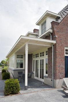 Porch Veranda, Side Porch, Next At Home, Art Deco Design, Bay Window, Pergola, New Homes, Exterior, Patio