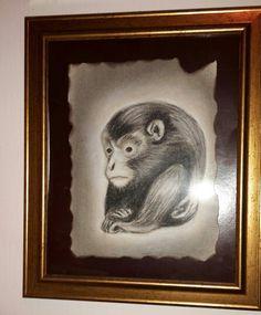 Netsuke szénrajz/ charcoal drawings
