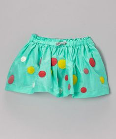 Loving this Opal Dot Swing Skirt - Girls on #zulily! #zulilyfinds