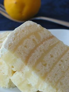 Ricotta Cake With Meyer Lemon Curd, this looks to good!