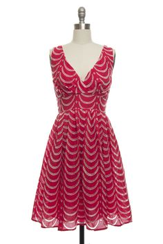 Bridesmaid Dress Idea: While this is not part of the color scheme, it could be cute with cowboy boots.