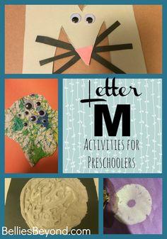 Letter M Activities for Preschoolers from BelliesBeyond.com