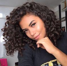 Kinky Curly Hair Weave on sales - Quality Kinky Curly Hair Weave supplier 3b Curly Hair, 3b Hair, Curly Hair Styles, Curly Weave Hairstyles, Haircuts For Curly Hair, Pretty Hairstyles, Natural Hair Styles, Short Haircuts, Curly Hair Girls