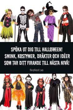 Ideer, inspiration, kostymer och dräkter för alla smaker!  #halloween #halloween2019 #halloweenkostymer #halloweenkostym #halloweensverige #halloweensmink #halloweenfest #firafest #grapevine