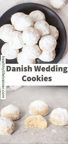 Danish Wedding Cookies are a delicious mix of three main ingredients: pecan, butter, and flour. They are buttery, nutty, and sweet. They are also rolled in powdered sugar to give them a delicious sweetness and look of a beautiful snowball. You will not get enough of these Danish Wedding Cookies. #Danishweddingcookies #weddingcookies #easycookies