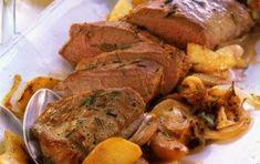 Χοιρινό με δεντρολίβανο Roast Beef Recipes, Greek Cooking, Sunday Suppers, Most Favorite, Greek Recipes, Pot Roast, Pork, Turkey, Cooking Recipes