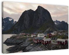 Hamnøy (Lofoten, Noorwegen) op canvas, dibond of (ingelijste) poster print.