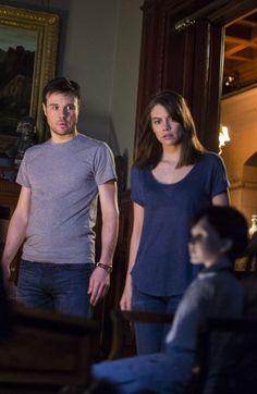 Lauren Cohan and Rupert Evans in The Boy