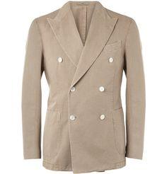 Boglioli Unstructured Cotton and Linen-Blend Blazer  | MR PORTER