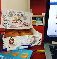 Somos #happyworkers cuando #uberdonas llega con esto al #coworking