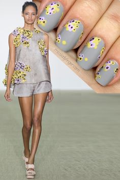 Leave it to Giambattista Valli to get a girl who swears off floral giddy about flowers. I have been itching to recreate this look from the sculptural Spring '14 collection ever since I first saw it back in September. Now with Easter Sunday officially behind us, it's time to make these Ladyfingers bloom… Sometimes the […]