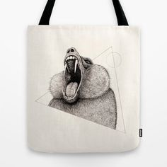 'Wildlife Analysis III' tote bag by Alex G Griffiths