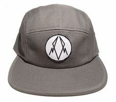 -Five Panel-Grey/ HastaeLogik an awesome new up and coming brand, check them out :)