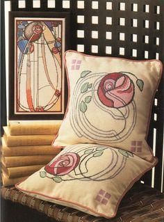 Gallery.ru / Фото #67 - Art Nouveau Cross Stitch - CrossStich - meseszép
