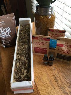 Cacao Powder, Organic Oil, Handmade Soaps, Fragrance, Perfume