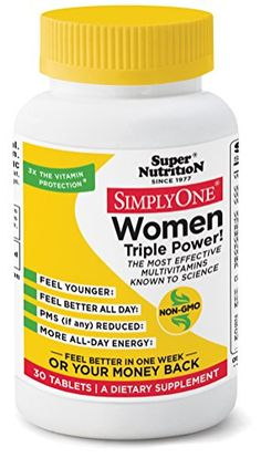 SuperNutrition Simply One Women 30 Tab * Click image for more details.