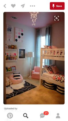 When you think firstly about modifying your daughter sleeping room, absolutely y. When you think firstly about modifying your daughter sleeping room, absolutely you will consider he Sister Room, Daughters Room, Child Room, Baby Room, Shared Bedrooms, Kid Bedrooms, Shared Room Girls, Little Girl Rooms, Bedroom Ideas