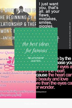 144 Best Relationship Quotes images