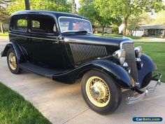 1934 Ford Deluxe Tudor #ford #deluxetudor #forsale #canada