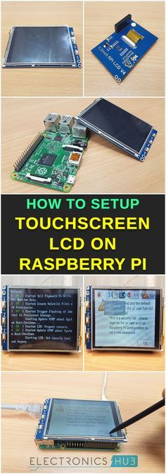 How to Setup Touchscreen LCD on Raspberry Pi? – Leung Michael How to Setup Touchscreen LCD on Raspberry Pi? Pi Computer, Computer Projects, Arduino Projects, Computer Programming, Diy Projects, Electronics Gadgets, Electronics Projects, Projetos Raspberry Pi, Raspberry Computer