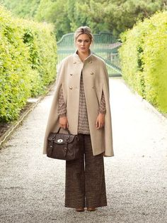 plus size cape sewing pattern. Burdastyle - To bad I don't read german!