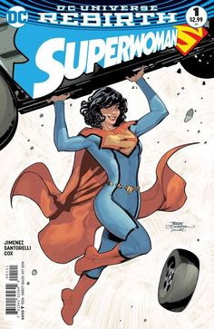 "DC COMICS (W) Phil Jimenez (A) Phil Jimenez, Matt Santorelli (CA) Phil Jimenez ""Who Is Superwoman?"" part one! Lois Lane takes flight! Now powered up with the abilities of Superman, Lois pledges to car"