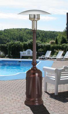 Lava Heat Italia Mini Patio Heater LP Stainless Steel | Outdoor  Entertaining | Pinterest