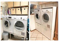 De oplossing voor uw wasruimte de wastoren. nooit meer bukkend de