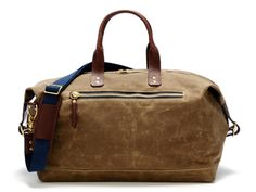 OVERNIGHT BAG BRITISH TAN - BAGS - ACCESSORIES