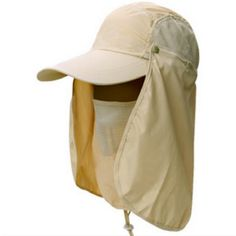 f904626d1a2 Gardening Travel Hiking Face Neck Protector Mountain Climbing Quick Dry Hat