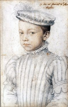 François Clouet (Tours, about 1515–Paris, 1572) Portrait of François II