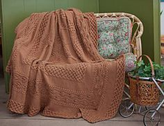 Ravelry: Yggdrasil Afghan pattern by Lisa Jacobs